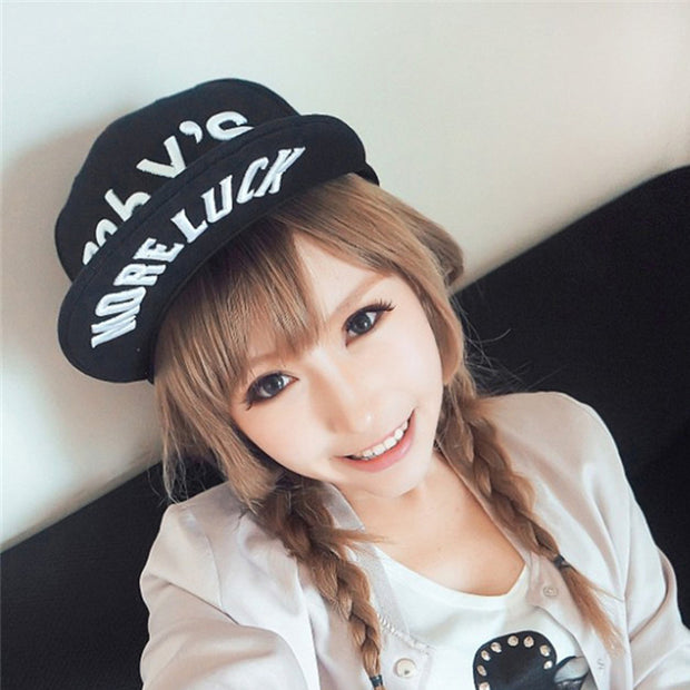 2018 New Letters Printed Baseball Caps Hip Hop Bone Snapback Hats For Women Adult Adjustable Gorras Casquette Canvas Casual Caps