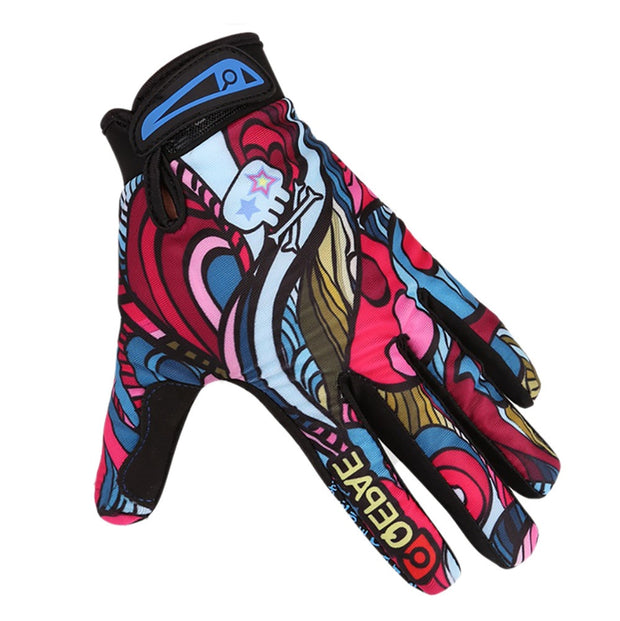 2018 New Screen Gloves Thermal Anti-skid Gloves Outdoor Anti-wind Skiing Fleece Gloves #NE1029