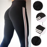 2018 Sexy Women Yoga Pants Sport Leggings Push Up High Waist Training Leggins Fitness Athletic Gym Running Tights Trousers