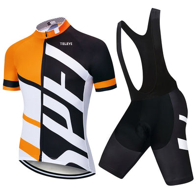 2018 TEAM SPECIALIZEDING Cycling Clothing Bike Jersey Ropa Ciclismo Mens Summer Quick Dry Cycling Jerseys Maillot Culotte