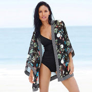 2018 Women Chiffon Loose Beachwear Bikini Outer Cover Sunscreen Cardigan Bathing Suit Bikini Swimwear Sexy Swimsuit Summer