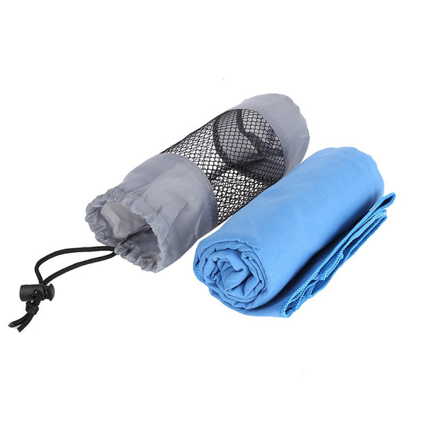 2018 Hot Sports Outdoor Quick-drying Towel Portable Quick-drying Towel Beach Towel Microfiber Comfortable Towel