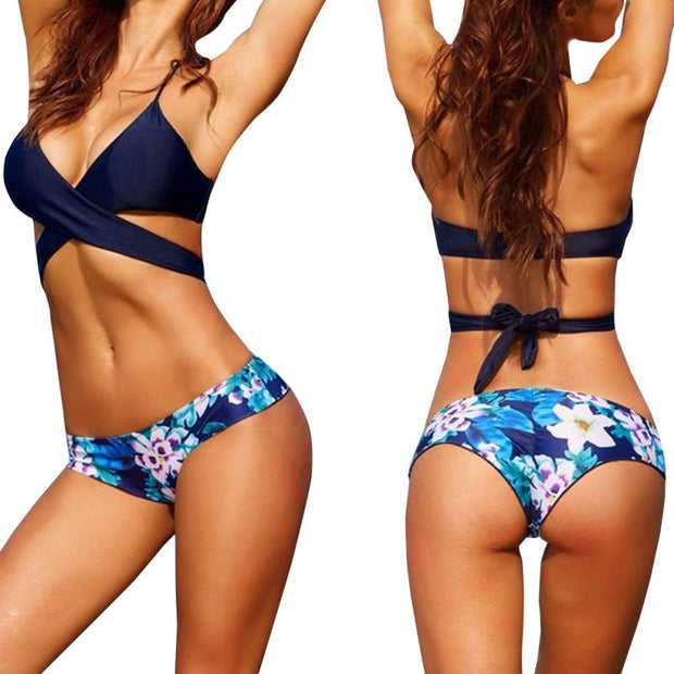 2018 New Swimwear Bandage Bikini Sexy Beach Swimwear Women Swimsuit Bathing Suit Brazilian Bikini Set Maillot De Bain Biquini#cz