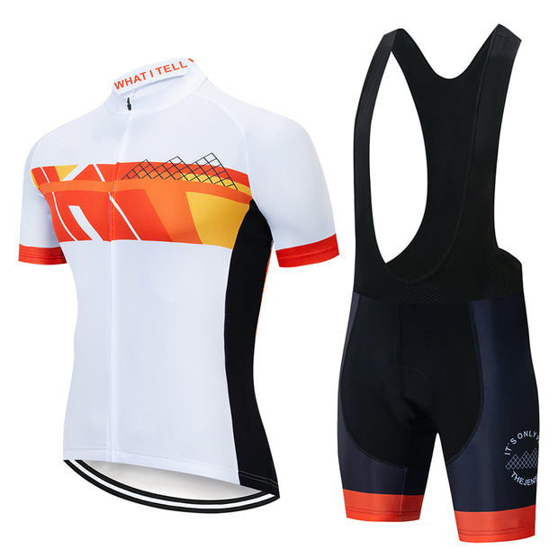 2019 NEW Cycling Jersey Team 9D Gel Pad Bike Shorts Cycling Clothing Men Summer Tour Cycling Maillot Culotte Clothes Set