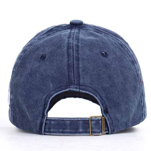 2019 New Fashion Vintage Baseball Cap High Quality Casual Hat Spring Man Woman Car Print Washed Cotton Trucker Sport Bone Male