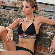 2019 Stylish Sexy Bikini Sets Push Up Women Girls Swimsuit For Beach Bathing Suit Sexy Solid Bandeau Sportswear Accessories
