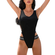 2019 Women Swimwear Sexy High Cut One Piece Swimsuit Backless Swim Suit Thong Bathing Suit Female Maillot De Bain