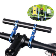 20CM Bicycle Handlebar Extended Bracket Headlight Mount Bar Computer Holder Lamp Alloy Carbon Fiber Support Extender