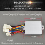 24V 350W YINYUN YK31C DC Brush Ebike Controller Electric Bicycle Match 350w Motor Electric Scooter Accessories Parts
