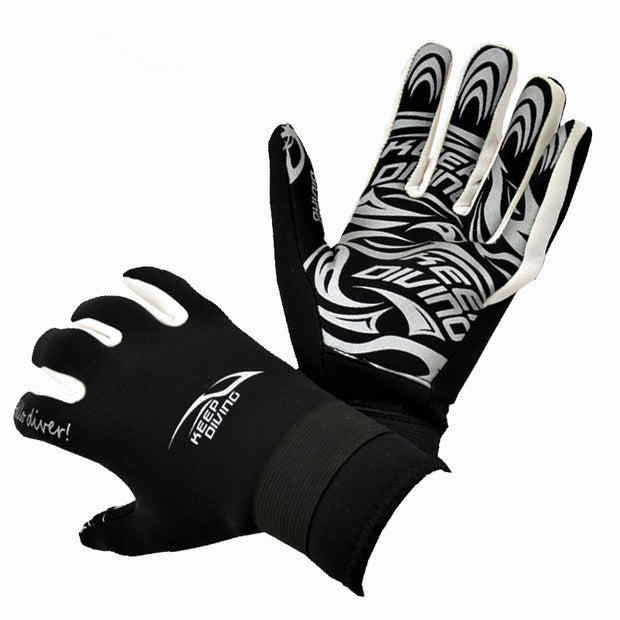 2MM Professional Neoprene Scuba Diving Gloves Warm And Non-slip Snorkeling Swimming Equipment Wetsuit Wet Suit Perfect Fit