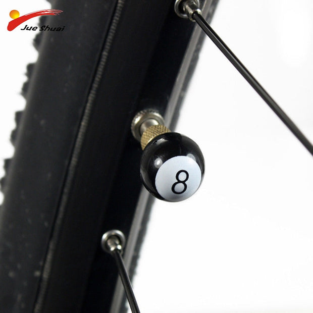 2pc/set Funny Design Bicycle Valve Wheel Tire Covered Protector Road MTB Valve Cap Accessories Bisiklet Aksesuar Wheel Caps