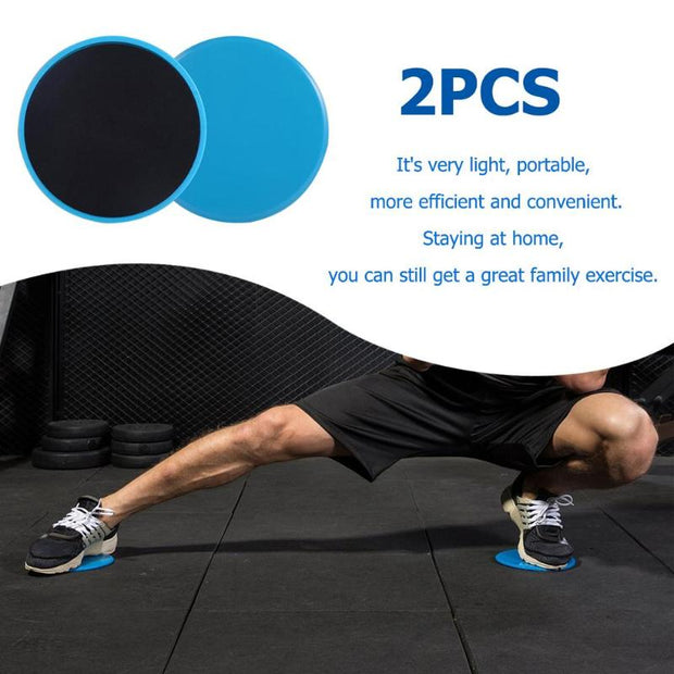 2pcs Gliding Discs Slider Fitness Disc Exercise Sliding Plate For Yoga Gym Abdominal Core Training Exercise Equipment