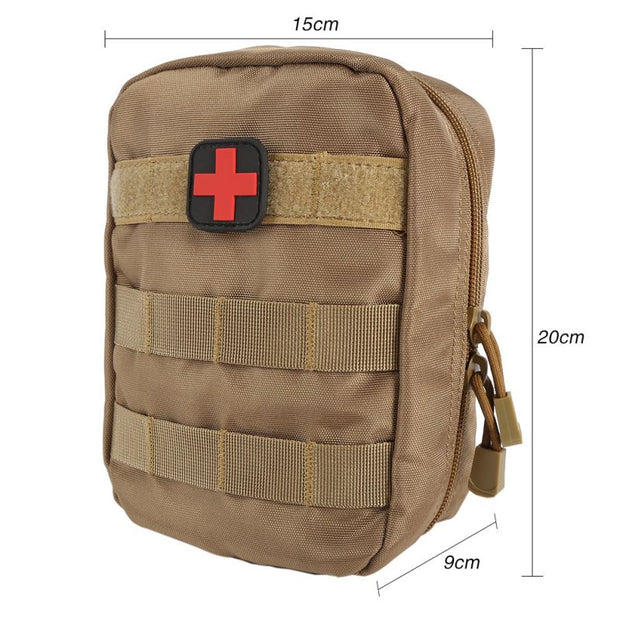 3 Colors First Aid Bag Molle Medical EMT Cover Outdoor Emergency Military Program IFAK Package Travel Hunting Utility Pouch