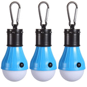 (3Pack)Mountaineering Buckle Portable Lantern Emergency Tent LED Light Bulb For Home, Fishing, Camping,Backpacking And Other I