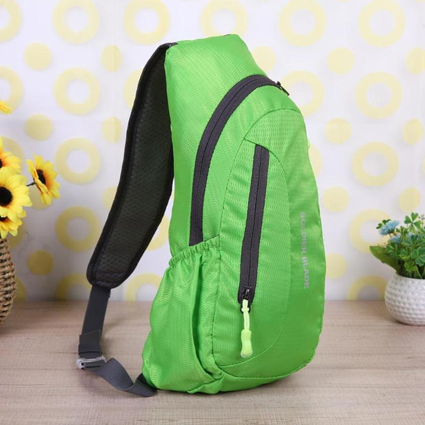 4 Colors Sport Backpacks Waterproof Outdoor Travel Backpack Package Chest Bag For Women Men Shoulder Rucksack Cycling SportsBag