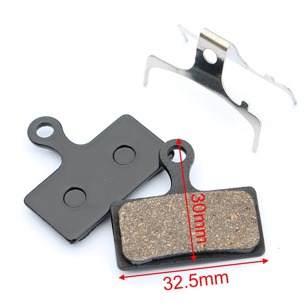 4 Pairs Bicycle Brake Pads For Shimano XTR BR-M9000 9020 987 988 985 XT M8000 785 SLX M675 666 Alfine S700 Deore M615 RS785