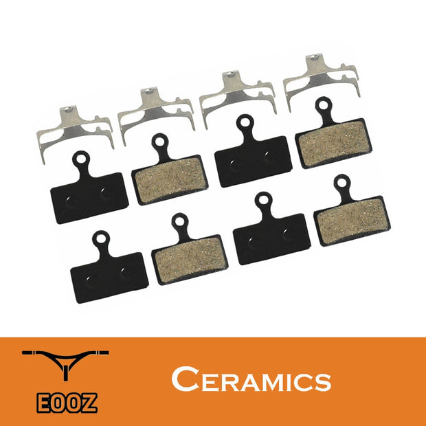 4 Pairs Bicycle Ceramic Disc Brake Pads For SHIMANO G01S XTR M9000 M988 Deore XT M8000 M785
