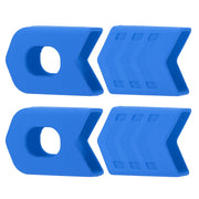 4Pcs Crank Protective Sleeves Bicycle Crankset Protector MTB Road Bicycle Cycling Equipment Crankset Crank Protective Sleeve