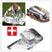 5 Pieces Survival Thermal Mantle Blankets Emergency Mat Tool For Emergency First Aid Kits Car Emergency Kit Wholesale