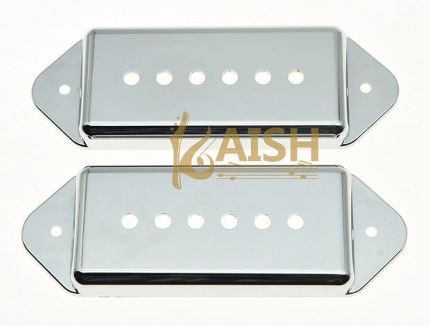 52mm LP P90 Dogear Guitar Pickup Cover For Chrome