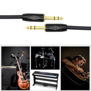 6.35mm Electric Guitar Audio Cable Connecting Cables Straight Wire Guitar Cable