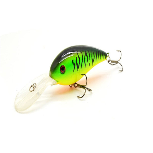 7pcs/lot Artificial Simulation Swimbait Crankbait Fishing Lure Fat 10.5cm15g Hard Plastic Bait High Quality Hook Fishing Tackle