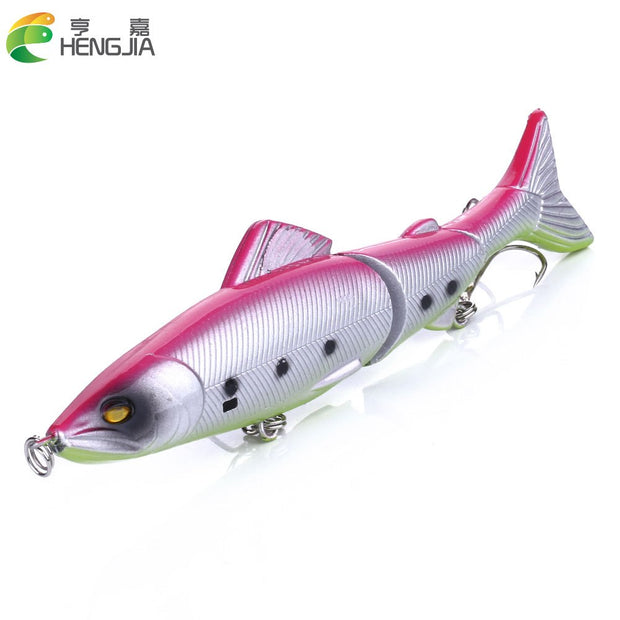 8pcs 12.5CM 17.7G 4#(JM009) Hard Plastic Jointed Minnow Fishing Lures Wobble Bass Fishing Baits Pesca Fishing Tackles