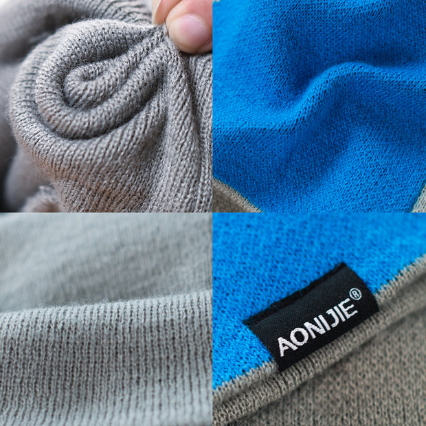 AONIJIE Breathable Men Women Knitted Sports Hat Windproof Running Beanie Hat Outdoor Cycling Skull Cap Warm Winter Hat