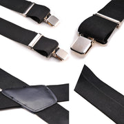 Adjustable Elasticated Adult Suspender Straps Y Shape Clip-on Men's Suspenders 3 Clip Pants Braces For Women Belt Straps