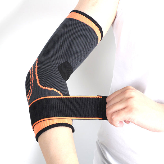 Adjustable Sport Elbow Support Pads Basketball Elastic Nylon Adult Protector Safety Fitness Running Cycling Bandage Arthritis