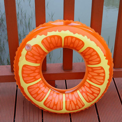 All Size Inflatable Party Fun Fruit Lemon Watermelon Swimming Circle Ring Inflatable Pool Float Party Toy Water Sport Swim Rings