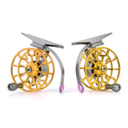 Aluminum Fly Fishing Reel Diameter 55mm Size Right Or Left Hand Retrieve Fishing Reels Wheel Pesca Fishing Accessories 2017