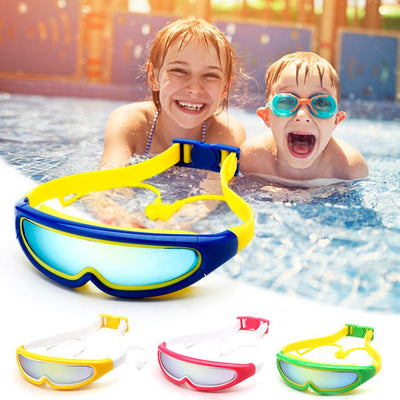 Anti Fog Adjustable Pating Children Swimming Goggles Brief Outdoor Girls Boys Eyewear Professional Waterproof Swim Glasses