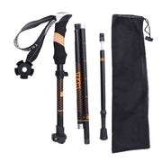 Anti Shock Nordic Walking Sticks Telescopic Trekking Hiking Poles Ultralight Walking Canes With Rubber Tips Protectors #8