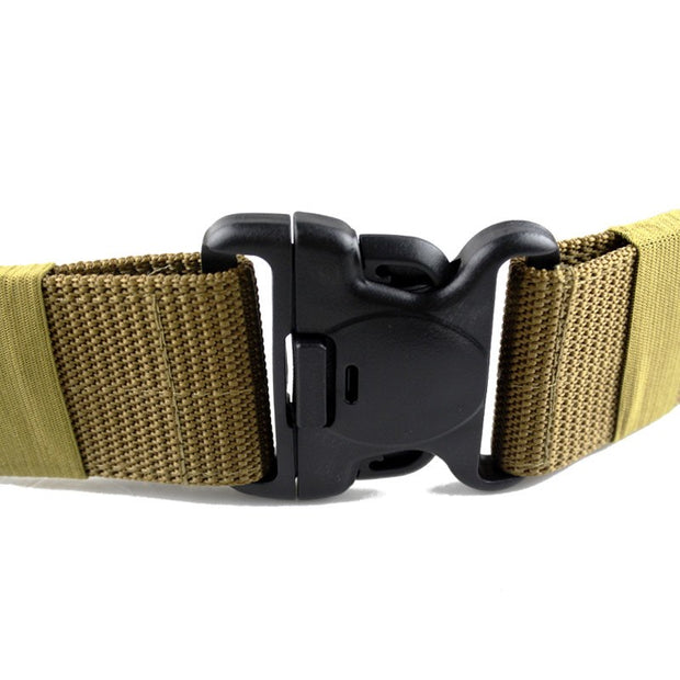Army Tactical Belt Outdoor Sport Nylon Combat Training Soldier Waistband Military Belts