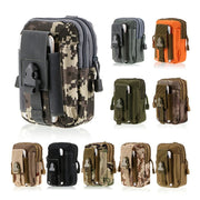 B04 Military Tactical Outdoor Sports Multi-functional Wear-resistant Nylon Waterproof Phone Pockets / Running Bag/waist Package