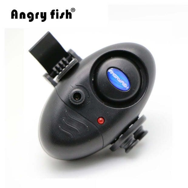 B2 Outdoor Tools Fishing Alarm Sound And LED Light Tope On Fishing Rod Fly Fishing Tackle Electronic Fish Bite Alarm