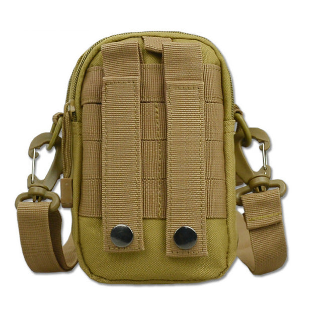B60 Military Fans, Tactical Outdoor Sports Camouflage Pocket Mobile Phone Pocket Sports Bag Multi Style Optional