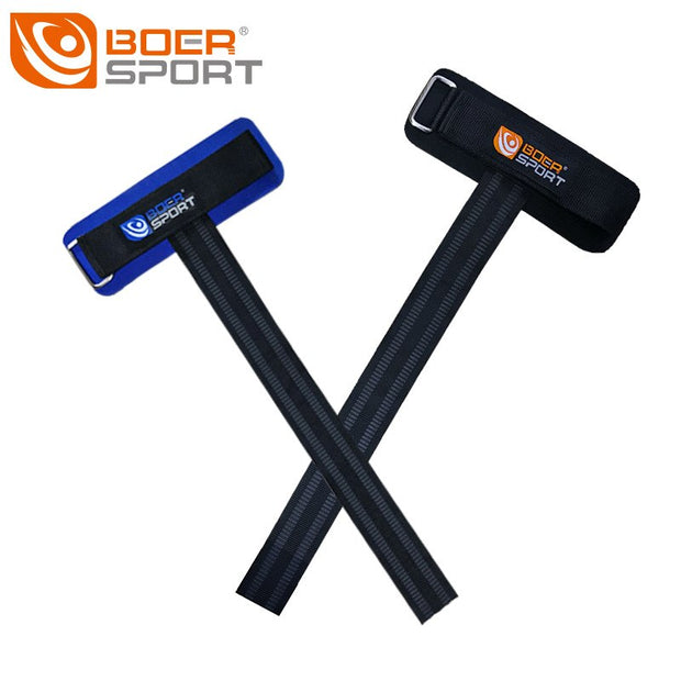 BOER 1 Pair Thickening Antiskid Sports Bracers Gym Training Professional Weightlifting Dumbbells Power Band Grip Belt Wrist Pad