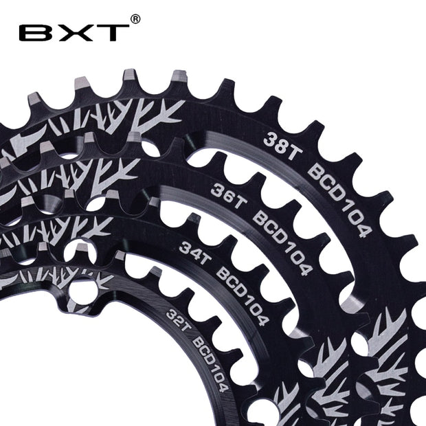 MTB Chainring Mountain Bicycle Crank Chainwheel 32T 34T 36T 38T 104BCD