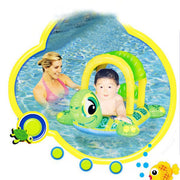 Baby Child Turtle Shape Inflatable Beach Swimming Pool Floating Seat Boat Pool Toy Swimming Water Game Toy