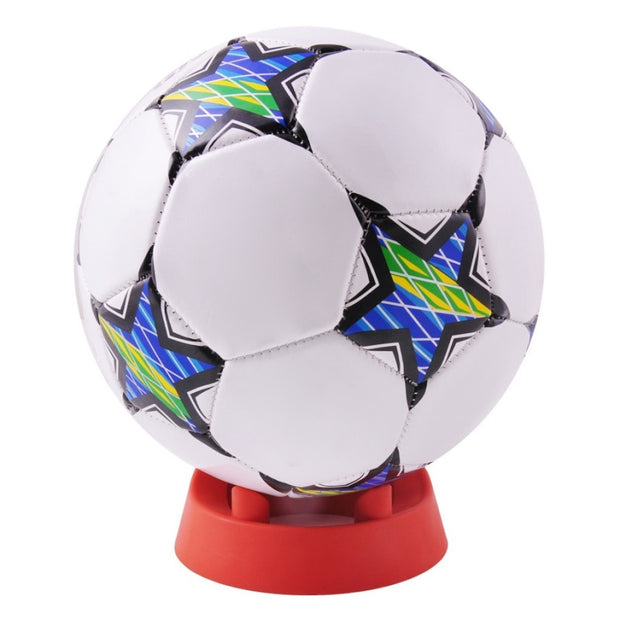 Ball Stand Basketball Football Soccer Rugby Plastic Display Holder