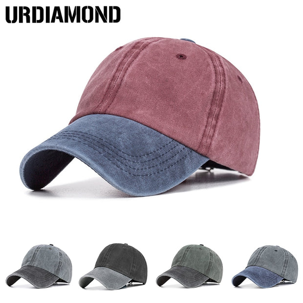 Baseball Cap Women Men Snapback Caps Unisex Bone Cotton Cap Spring Summer Gorras Adjustable Sport Hat Dad Hat Washed Cap
