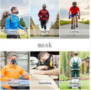 Basecamp Cycling Mask Men Women Sport Face Masks Smog Anti Pollution Anti Dust Maske MTB Bicycle Mask Ciclismo Bisiklet
