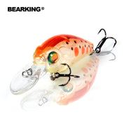 Bearking Hot Model Professional A+ Fishing Lures,10 Color For Choose, Minnow,crank 35mm 3.7g, Dive 2.0m Fishing Tackle Hard Bait