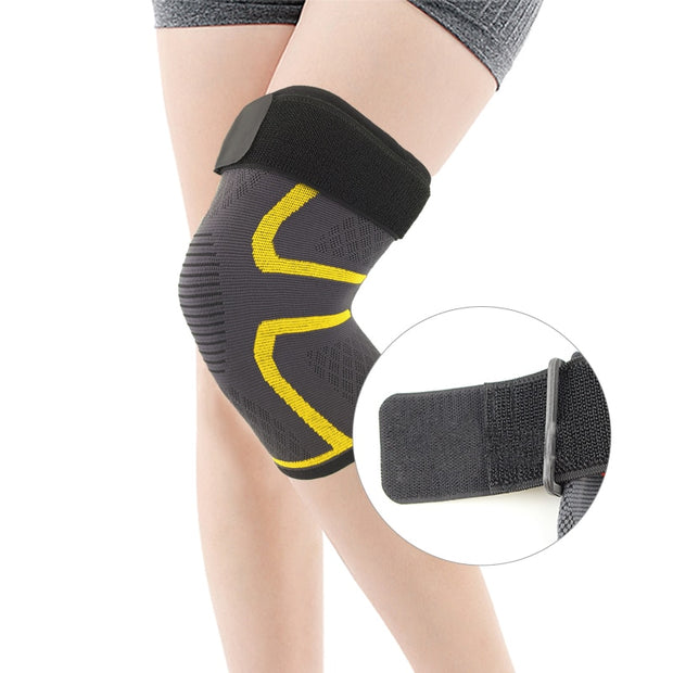 Befusy New Knee Support Professional Protective Sports Elastic Knee Pad Breathable Bandage Knee Brace Basketball Tennis Cycling