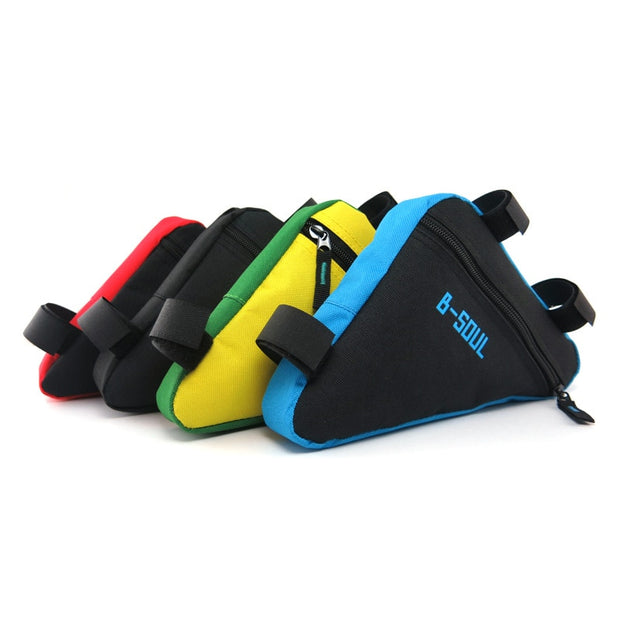 Bicycle Accessories Seat Tube Bags Outdoor Cycling Mountain Riding Bikes Saddle Bag Top Tube Frame Pouch Package