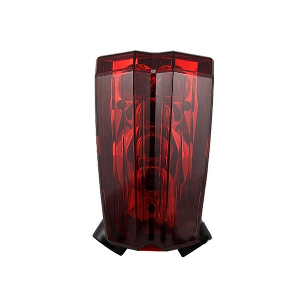 Bicycle Cycling Bike Rear Tail Light Cycling, Outdoor, Etc White JG-A LED Safety Taillight Signs