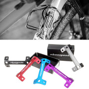 Bicycle Double Water Bottle Extension Holder Cage Adapter Rack Alloy Mountain Road Bike Front Double Water Bottle Holder Adapter