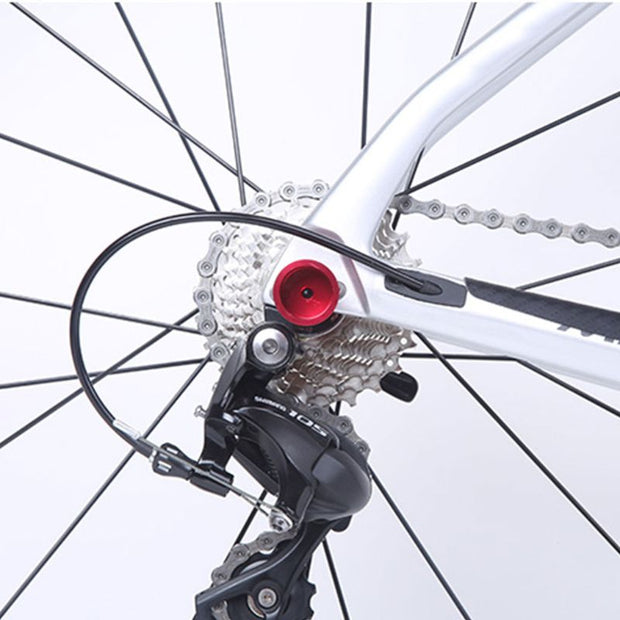 Bicycle Guard Chain Protector MTB Rear Derailleur Secure Device Anti-collision Wear Resistant Speed Changer Accessory W20